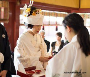 三々九度 花嫁 神前式 東京