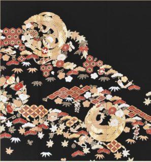 総刺繍の留袖